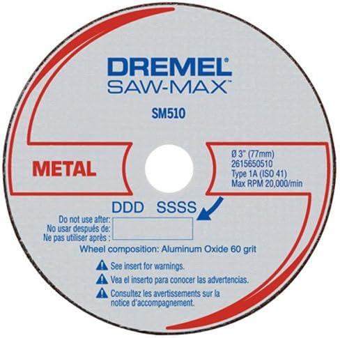 Dremel SM510 C 7,62 cm Metal cut-off Wheel, 3-Pack: Amazon.es: Bricolaje y herramientas