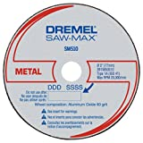 Dremel SM510c 3-Inch Metal Cut-Off Wheel, 3-Pack