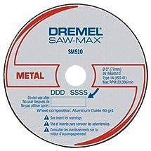 Dremel SM510c 3-Inch Metal Cut-Off Wheel, 3-Pack