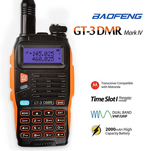 Baofeng/Pofung UV5R VHF/UHF Dual Band Two-Way Radio (Black) - 4