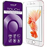 Fosmon Apple iPhone 6 Plus / 6s Plus Screen Protector (TOUCH) Tempered Glass (High Definition) Ultra Clear HD (Oleophobic Coating) Screen Protector (Ultra Thin 0.26mm) for iPhone 6 Plus / 6s Plus (5.5 inch) [Compatible with 3D Touch] - Fosmon Retail Packaging