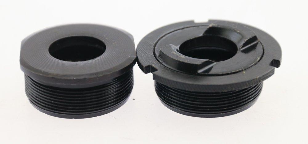 32.0 x 52 x 37.5 x 121.5mm, Sunlite Bottom Bracket Axle 3SS