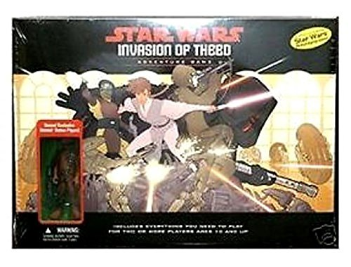 Star Wars Invasion of Theed Adventure RPG Game w/ Exclusive Wookie Action Figure
