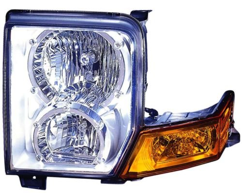 Jeep Commander Replacement Headlight Assembly Halogen - Driver Side