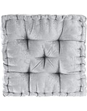 Intelligent Design Poly Chenille Square Floor Pillow Cushion