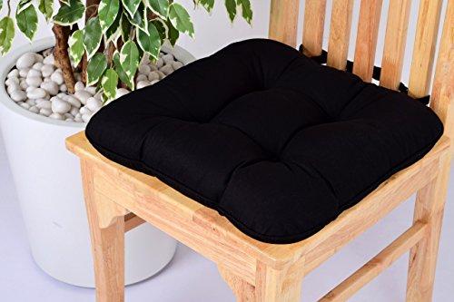 black chair cushion ties - 1
