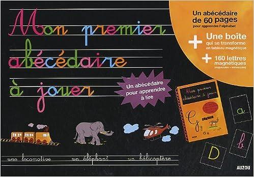 Ebooks en deutsch télécharger MON PREMIER ABECEDAIRE A JOUER (NOUVELLE EDITION) PDF 2733813781