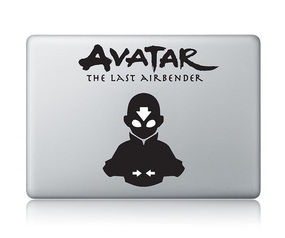 Amazon com aang avatar v1 macbook decal the last airbender apple macbook decal vinyl sticker apple mac air pro laptop sticker computers accessories