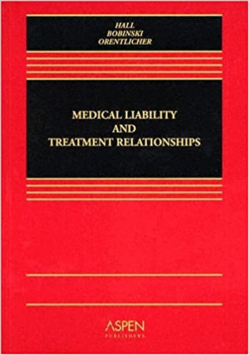 Book Medical Liability And Treatment Relationships