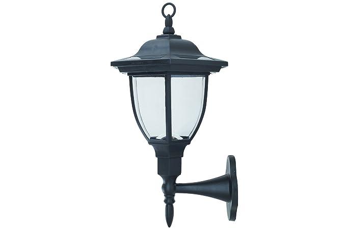 Applique lampada lanterna parete montante terrazza energia solare