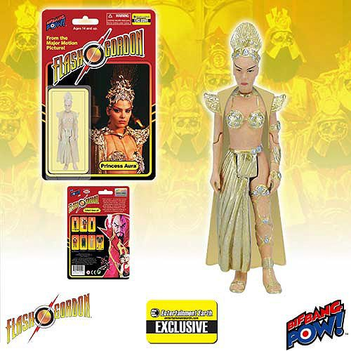 Flash Gordon Rocket (Bif Bang Pow! Flash Gordon Princess Aura in Bikini 3 3/4-Inch Action Figure - Entertainment Earth Exclusive.)