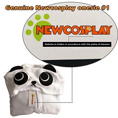 NEWCOSPLAY Childrens Pajamas Sleeping Wear Animal Onesies Cosplay Homewear (125#, Pink Unicorn) by NEWCOSPLAY (Image #6)