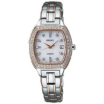 ffacfadd33 [エクセリーヌ]EXCELINE 腕時計 ソーラー電波修正 カーブサファイアガラス 日常生活用強化