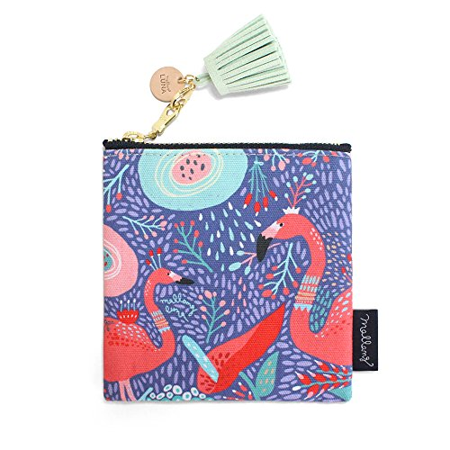 MallangLuna - Cartera de mano para hombre Flamingo Dream