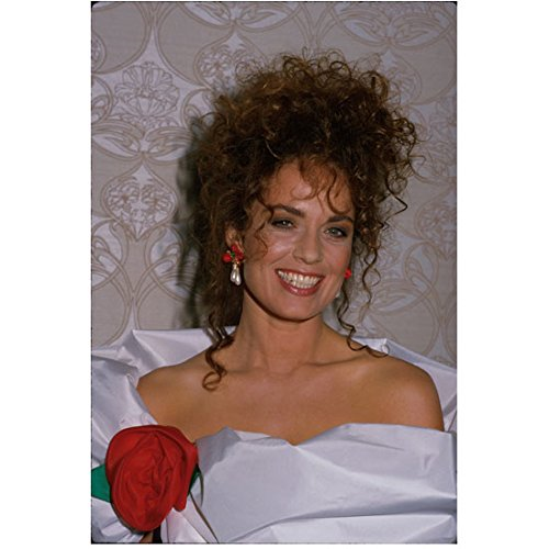 The Dukes of Hazzard Catherine Bach with Hair Up Wearing Rose Gown 8 x 10 Inch Photo