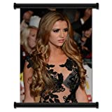 Lucy Mecklenburgh Sexy Fabric Wall Scroll Poster (16' X 23') Inches