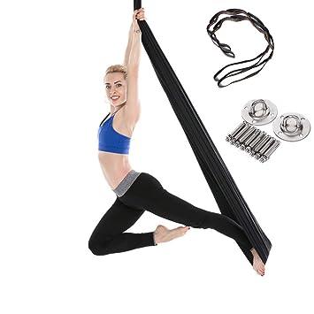 Amazon.com : Fange Yoga Trapeze Swing Hammock Anti-Gravity ...