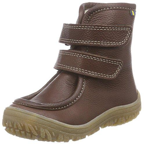 clásicas frío Unisex Darkbrown Braun en niños corta longitud botas 19 marrón Fagervik Kavat para forradas gTFAAq