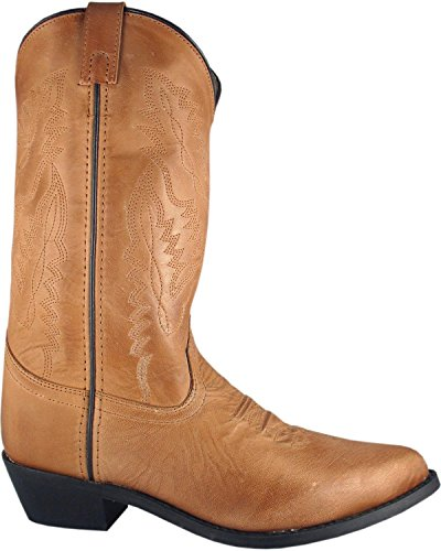 Smoky Mountain Womens Bomber Cowgirl Boot Rund Tå - 6025 Tan