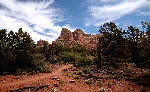 Sedona-mountains-(Arizona,-USA) Postcard Post card