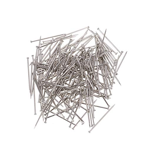 Artibetter Head Pins Fine Satin Straight Pin for Jewelry Making Sewing and Craft 2000Pieces