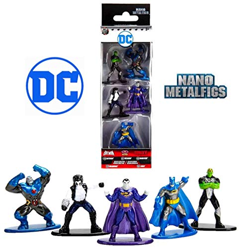 Free Comic Book Day Dubai: Nano Metalfigs DC Comics 5-Pack Set 3