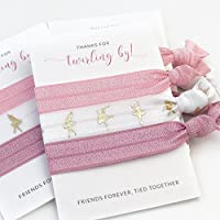 Ballerina Party Favours and Ballet Competition Recital Gifts - Hair Ties (5 Pack)