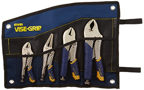 (IRWIN Tools VISE-GRIP Locking Pliers Set, Fast Release, 4-Piece (428KBT))