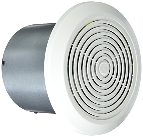 Round Exhaust Fan With Light
