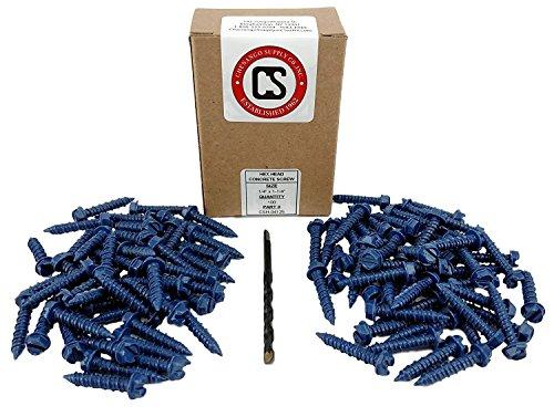 Buy screws into concrete