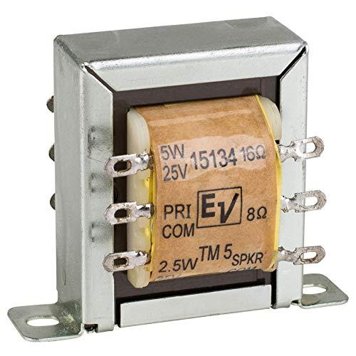 - TM5 / TLM15134 5 Watt 25V / 70V 100V Speaker Line Matching Transformer