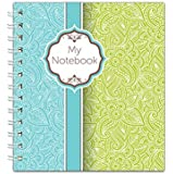 Channie's Handwriting Improvement Spiral Notebook, Stylish Visual Writing & Printing Aid for Elementary School Students…