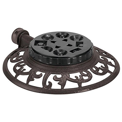 Decorative 8 Pattern Turret Sprinkler
