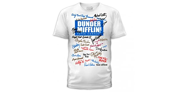 a75e8bdc The Office Unisex Signature T-Shirt: Amazon.ca: Sports & Outdoors