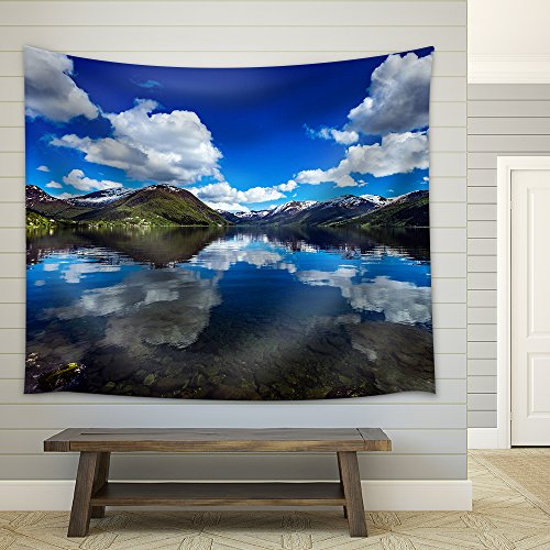 Beautiful Nature Norway Natural Landscape Fabric Wall