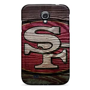 CharlesPoirier Samsung Galaxy S4 Shock Absorption Hard Phone Covers Provide Private Custom High Resolution San Francisco 49ers Image [exs17489RXYA]