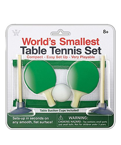 Westminster Worlds Smallest Table Tennis Set
