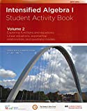 img - for Intensified Algebra I Student Activity Book Volume 2 book / textbook / text book