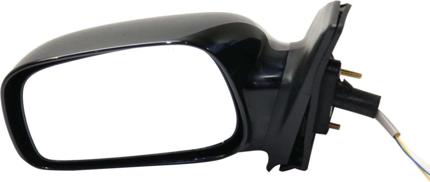 Mirror Compatible with 2003-2008 Toyota Corolla Power Paintable Driver Side