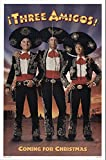"Three Amigos 1988 Authentic 27"" x 41"" Original Movie Poster Very Fine Chevy Chase Western U.S. One Sheet Advance"