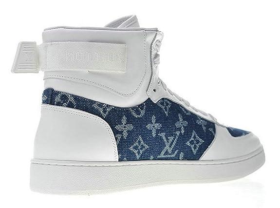 LV Louis Vuitton Rivoli Sneaker 1A45Tr White Hombre Zapatos Casuales: Amazon.es: Zapatos y complementos