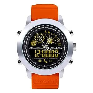 Milnnare Reloj Inteligente,Retroiluminación Impermeable Ronda ...