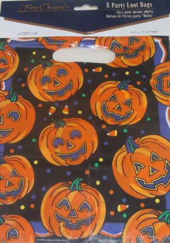 Treat Loot Sacks - Halloween Party Loot Bags Treat Bags 8 Bags
