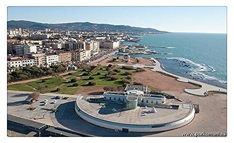 Livorno 1 viaje sitios postal Post tarjeta: Amazon.es ...