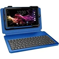 RCA RCT6773W22 8GB 7-Inch Touchscreen Tablet, Blue (1024x600 Resolution, Quad Core Processor, Android 4.4)