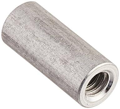 6-32 Screw Size Lyn-Tron Pack of 10 Zinc Plated Female 0.25 OD Steel 0.375 Length,