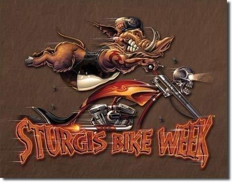 MMNGT Sturgis Bike Week Wild Boar Motorcycle