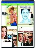 Erin Brockovich / Notting Hill / Duplicity / Charlie Wilson's War Four Feature Films [DVD] (Bilingual)