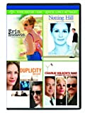 Erin Brockovich / Notting Hill / Duplicity / Charlie Wilson's War (Four Feature Films)