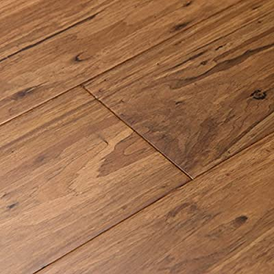 Cali Bamboo - Eucalyptus Hardwood Flooring, Wide Click, Mocha Brown - Sample